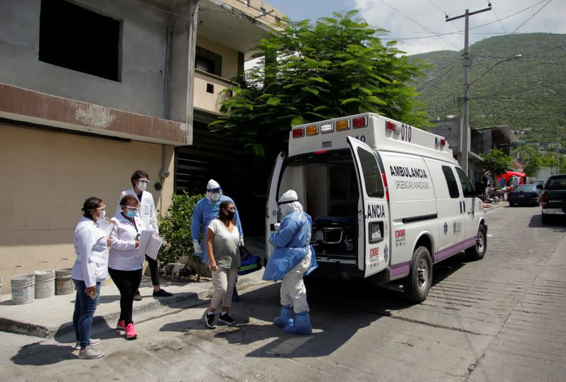Mexico nears 50,000 coronavirus deaths, with 829 new fatalities