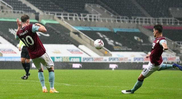 Ashley Westwood's brilliant volley briefly brought Burnley back level