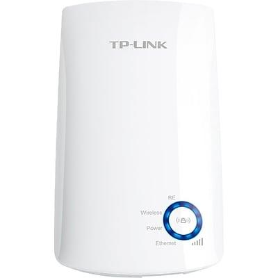 "<h2>Staples TL-WA850RE Universal Wireless Range Extender</h2><br><strong>Perks: Price & Easy Set-Up</strong><br>The cheapest and top-reviewed extender, found! For those who are desperate for better Wi-Fi but might not be the most tech-savvy of shoppers, this gem of a gadget is for you.<br><strong><br>The Hype:</strong> 4.08 out of 5 stars and 146 reviews <br><strong><br>Strong Signalers:</strong> ""Bought this for a basement suite I rent with landlord's router on the third floor. Before I purchased this my Wi-Fi download speed was .6 to 1.2Mbps.<br>Now get a download speed of 35-40 Mbps. Couldn't be happier and will probably buy a second unit for another part of my suite.<br>Great product for a very reasonable price.""<br><br><em>Shop <strong><a href=""https://www.staples.com/linksys/directory_linksys"" rel=""nofollow noopener"" target=""_blank"" data-ylk=""slk:Linksys"" class=""link rapid-noclick-resp"">Linksys</a></strong></em><br><br><br><strong>TP-Link</strong> TP-LINK® TL-WA850RE Universal Wireless Range Extender, $, available at <a href=""https://go.skimresources.com/?id=30283X879131&url=https%3A%2F%2Fwww.staples.com%2FTP-LINK-N300-Wi-Fi-Range-Extender-TL-WA850RE%2Fproduct_IM1RY7164"" rel=""nofollow noopener"" target=""_blank"" data-ylk=""slk:Staples"" class=""link rapid-noclick-resp"">Staples</a>"