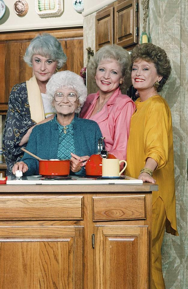 "<p>Last year, ABC Studios officially declared July 30 as <a href=""https://abcnews.go.com/GMA/Shop/celebrate-golden-girls-day-ultimate-treats-girl-squad/story?id=64634310"" target=""_blank"">Golden Girls Day</a><strong></strong><strong></strong>—more than 30 years since the hit sitcom first premiered—which perfectly coincides with National Cheesecake Day. To celebrate the mark that <em><a href=""https://www.amazon.com/Golden-Girls-Season-1/dp/B0002W4SX6"" target=""_blank"">The Golden Girls</a></em> cast has made with their catchy theme song, unique sense of humor, and unabashed love of <a href=""https://www.housebeautiful.com/design-inspiration/a28267266/what-is-lanai/"" target=""_blank"">a good lanai</a>, take a closer look at <em>The Golden Girls'</em> kitchen.</p><p>Jim Colucci's 2016 <em>New York Times</em> bestseller, <em><a href=""https://www.amazon.com/Golden-Girls-Forever-Unauthorized-Behind/dp/0062422901"" target=""_blank"">Golden Girls Forever</a></em>, gave GG fans insight into this specific room in the show's Miami house, where viewers saw four women band together as a family. Whether loyal admirers wonder where <a href=""https://www.housebeautiful.com/lifestyle/a28182521/the-golden-girls-house/"" target=""_blank""><em>The Golden Girls</em> house</a> is now, or want a <a href=""https://www.housebeautiful.com/lifestyle/a28264526/golden-girls-blanche-bedspread/"" target=""_blank"">bedspread like Blanche's</a>, or discover <a href=""https://www.housebeautiful.com/lifestyle/a28339291/friends-golden-girls-set-john-shaffner/"" target=""_blank"">the show's connection</a> with another beloved sitcom, <em>The Golden Girls'</em> kitchen has a rich history all its own. </p>"