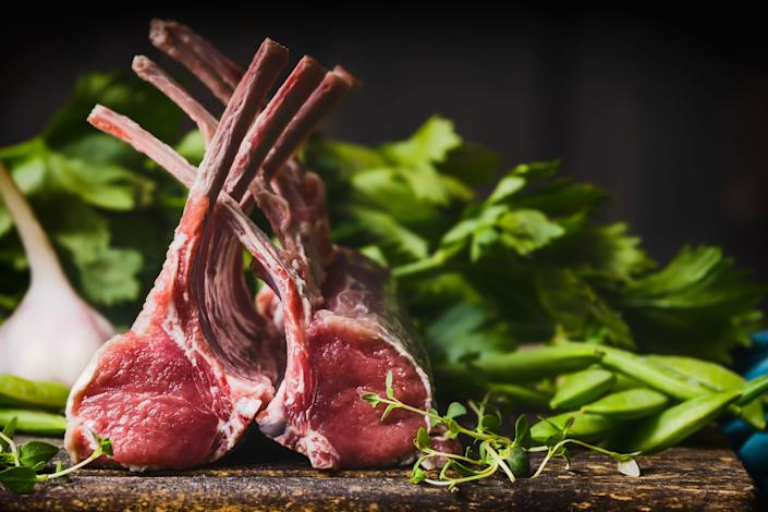 Before the coronavirus pandemic, half the sales of rack of lamb typically went to the restaurant industry. (Photo: vicuschka via Getty Images)