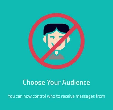 Sarahah recently introduced a blocking tool  - Credit: Sarahah