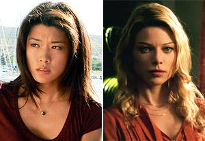 Grace Park, Lauren German | Photo Credits: Mario Perez /CBS, CBS