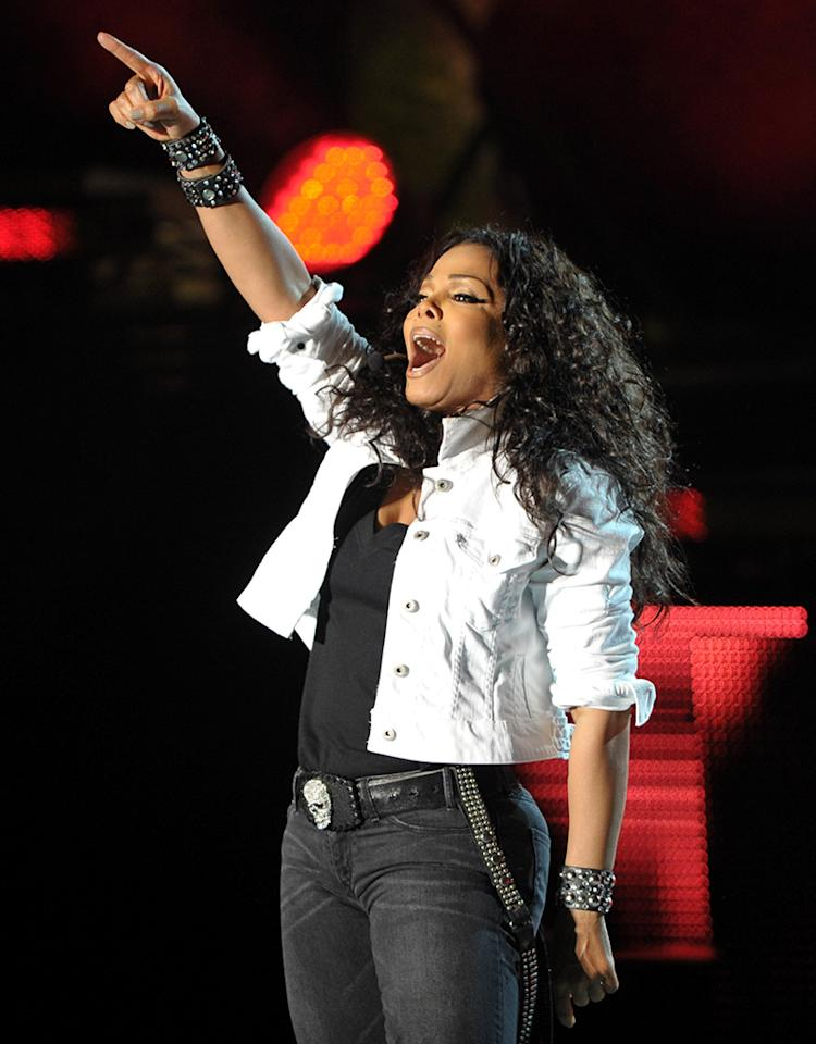 "Janet Jackson ""Number Ones: Up Close and Personal"" Tour - Los Angeles, California"