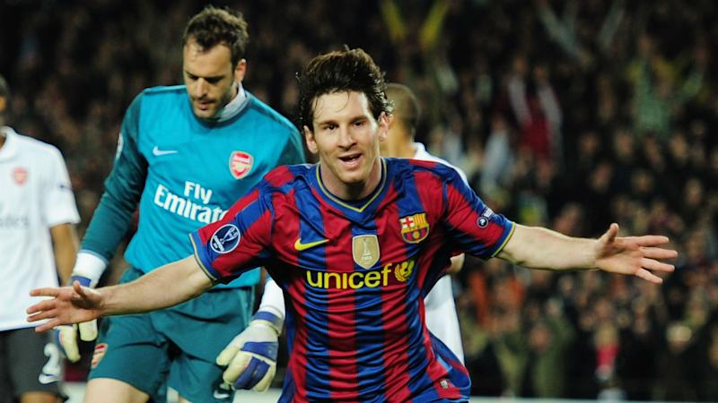 Lionel Messi: Barcelona star's greatest Champions League displays