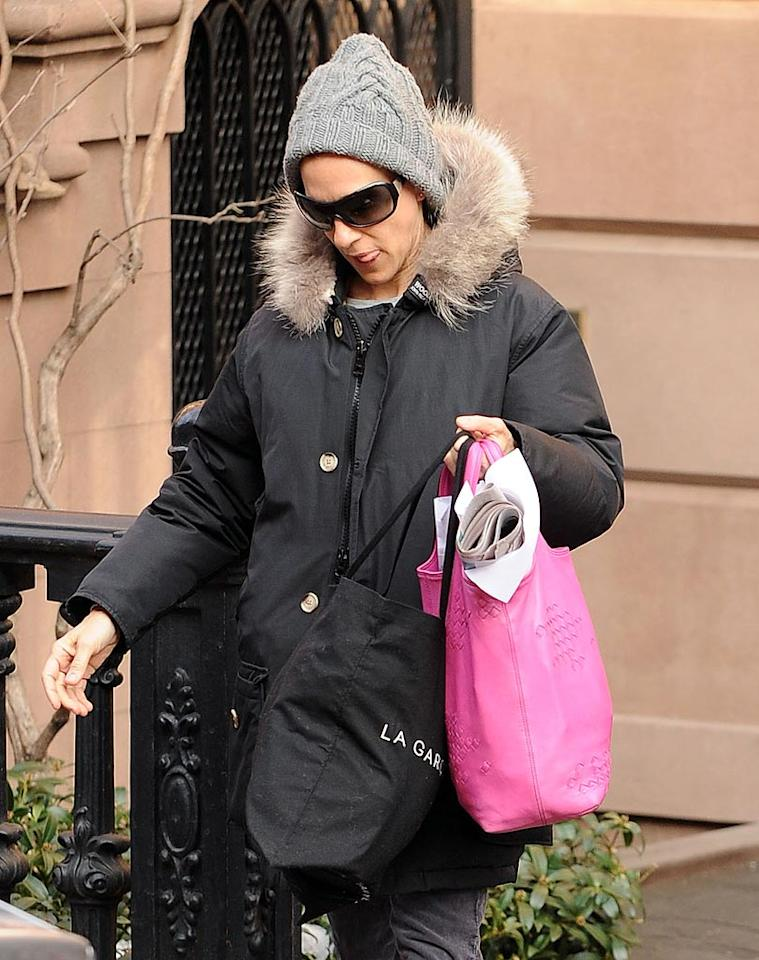 "Sarah Jessica Parker, spotted running errands in New York City, launched a new fragrance this week -- SJP NYC. Parker likened the scent, which has notes of wild strawberry, gardenia, and vanilla, to ""a snapshot in my head of Carrie Bradshaw"" -- a reference to her iconic character in ""Sex and the City."" Ron Asadorian<a href=""http://www.splashnewsonline.com"" target=""new"">Splash News</a> - February 22, 2010"