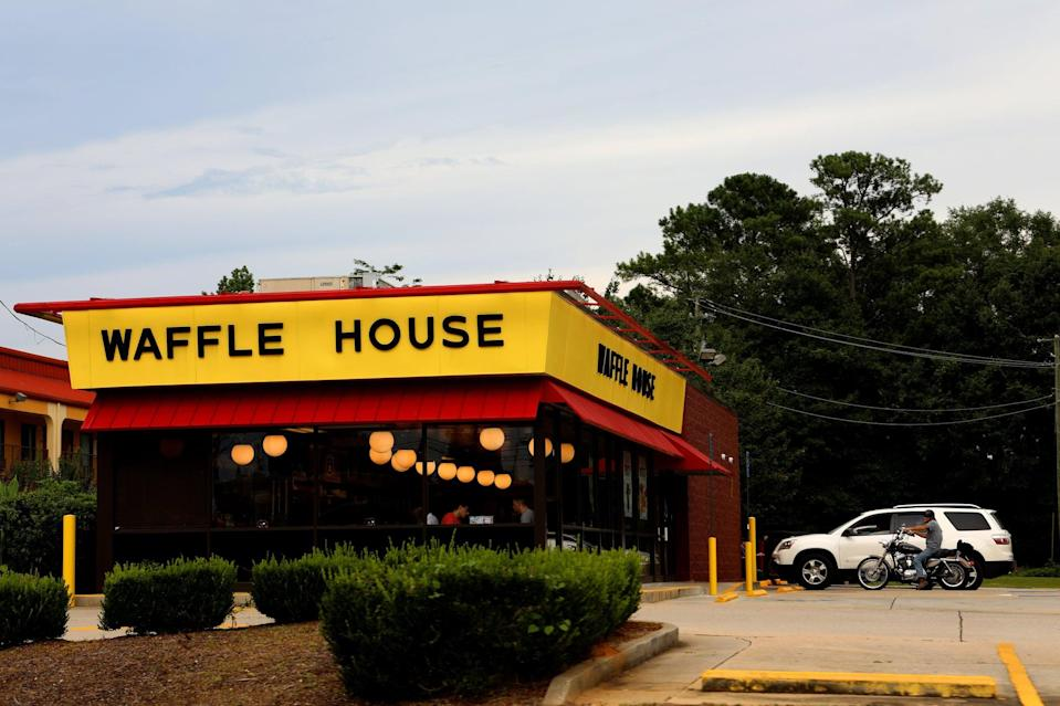 """<p>As of May 11, restaurants in Alabama were allowed to reopen with <a href=""""https://governor.alabama.gov/assets/2020/05/Safer-at-Home-Order-FINAL-5.8.2020.pdf"""" class=""""link rapid-noclick-resp"""" rel=""""nofollow noopener"""" target=""""_blank"""" data-ylk=""""slk:restrictions in place"""">restrictions in place</a>, including no parties larger than eight people in a restaurant and proper social distancing. All employees will also be wearing masks and self-service stations, like drinks and buffets, are prohibited.</p>"""