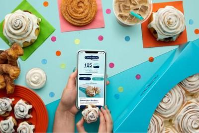 Cinnabon launched its first-ever Cinnabon app, Cinnabon Rewards program & online ordering with delivery – giving fans easy access to the irresistible treats they know & love, right at their fingertips. Through Cinnabon Rewards, members can earn points on each purchase toward rewards & enjoy offers just for being a loyal customer. To celebrate, Cinnabon is turning National Cinnamon Roll Day (Oct. 4) into a week-long celebration with exclusive deals on orders placed via the app or Cinnabon.com.