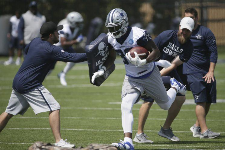 Dez Bryant is talking big about these 2017 Cowboys. (AP)