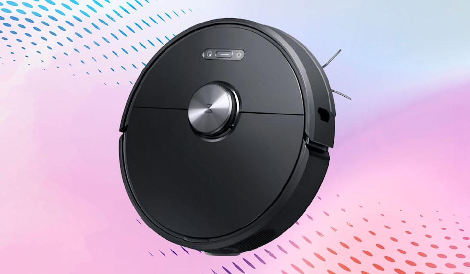 Unlike your household teenager, the Roborock S6 doesn't protest when you ask it to sweep -- or mop! (Photo: Walmart)