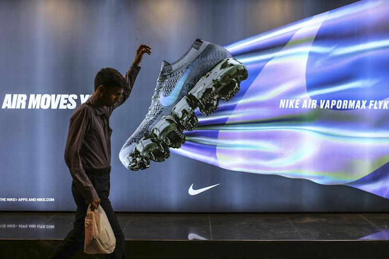 At $67.82 NIKE, Inc. (NKE) Forms Double Top