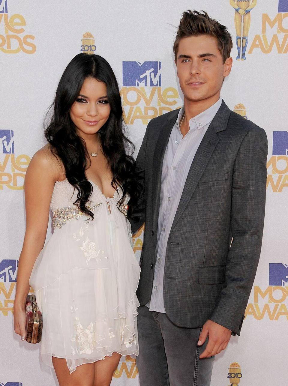 """<p>It really seemed like a Disney dream come true when the stars of <em>High School Musical </em>started dating IRL. But when t<a href=""""https://www.seventeen.com/celebrity/celebrity-couples/a26719613/zac-efron-love-life/"""" rel=""""nofollow noopener"""" target=""""_blank"""" data-ylk=""""slk:hey broke up not too long after the third and final movie,"""" class=""""link rapid-noclick-resp"""">hey broke up not too long after the third and final movie,</a> they definitely raised a few eyebrows<em>, </em>leading many to think they were simply together to promote the films.</p>"""