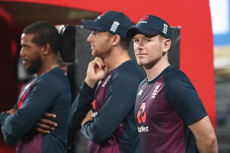 <p>Eoin Morgan is one of 11 England players at the tournament </p> (Getty Images)