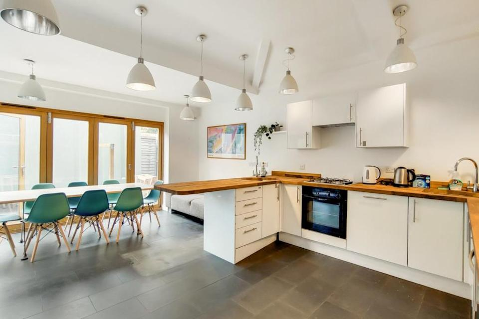 A room for rent in a huge houseshare in Kentish Town will cost £790 a month from mid-September. Call 020 8012 5217  (Rightmove)