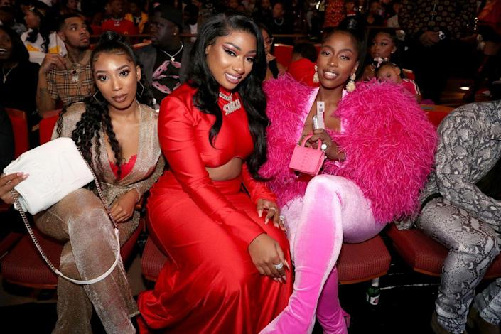 """<p>Megan Thee Stallion's best friend is also her manager Kelsey Nicole. In a <em><a href=""""https://www.rollingstone.com/music/music-features/megan-thee-stallion-interview-hot-girl-summer-950292/"""" rel=""""nofollow noopener"""" target=""""_blank"""" data-ylk=""""slk:Rolling Stone"""" class=""""link rapid-noclick-resp"""">Rolling Stone</a> </em>profile of the artist earlier this year, Megan said she and Kelsey became close as freshmen at Houston's Prairie View A&M University, where they would post twerking videos together. Even though Megan has achieved A-list status, the duo still finds time to dance together. In March, the artist <a href=""""https://www.instagram.com/p/B90BKuuFV4P/"""" rel=""""nofollow noopener"""" target=""""_blank"""" data-ylk=""""slk:posted a video"""" class=""""link rapid-noclick-resp"""">posted a video</a> of she and Kelsey learning the """"Savage"""" TikTok dance.</p>"""