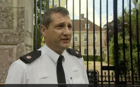 Supt Sean Memory makes an appeal for child sex abuse 'victims' of Heath to come forward in August 2015
