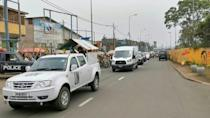 Bodies of Italian diplomats killed in DRCongo arrive at airport for repatriation