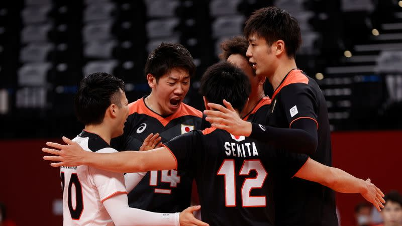 Volleyball - Men's Pool A - Japan v Poland