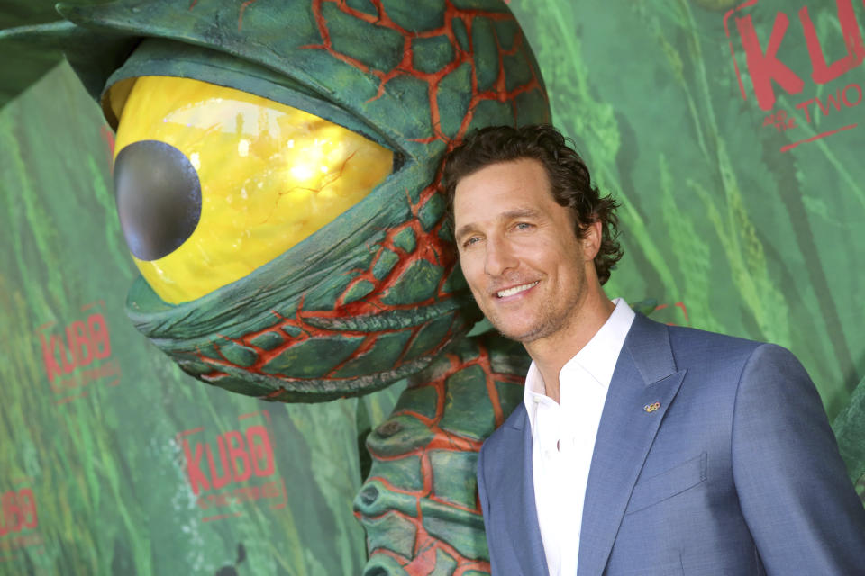 Matthew McConaughey seen at Focus Features Los Angeles Premiere of LAIKA