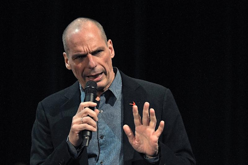 Co-founder of European Diem25 movement and former Greek Finance Minister, Yianis Varoufakis, hopes favourable German electoral rules can help him win a seat (AFP Photo/LOUISA GOULIAMAKI)