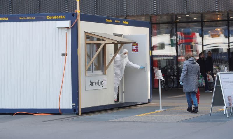 Swiss virus death toll hits 235 as official says worst case scenario `not yet materialised'
