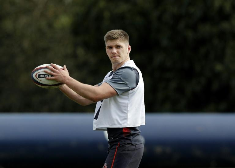 Farrell received treatment and was withdrawn from England's final training session before the Scotland game at their Bagshot base, southwest of London