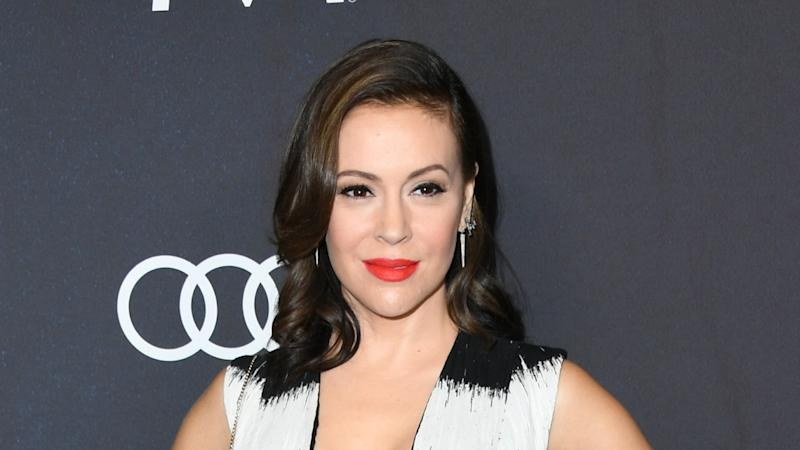 Alyssa Milano Reveals What She Was Thinking During Viral