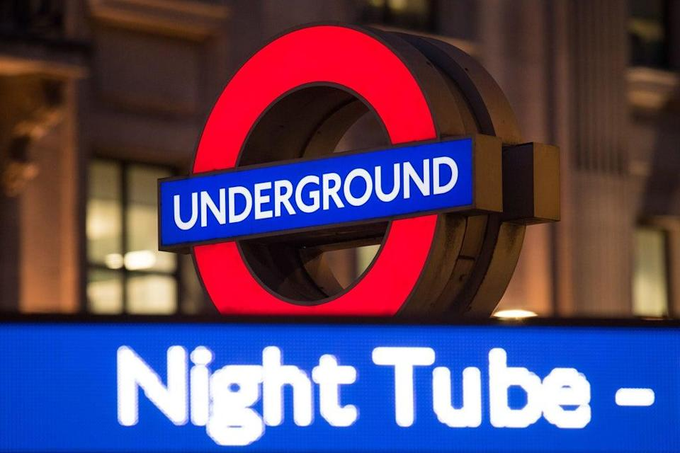 London Underground's Night Tube will resume next month after being suspended in March 2020 due to the coronavirus pandemic (Dominic Lipinski/PA) (PA Archive)