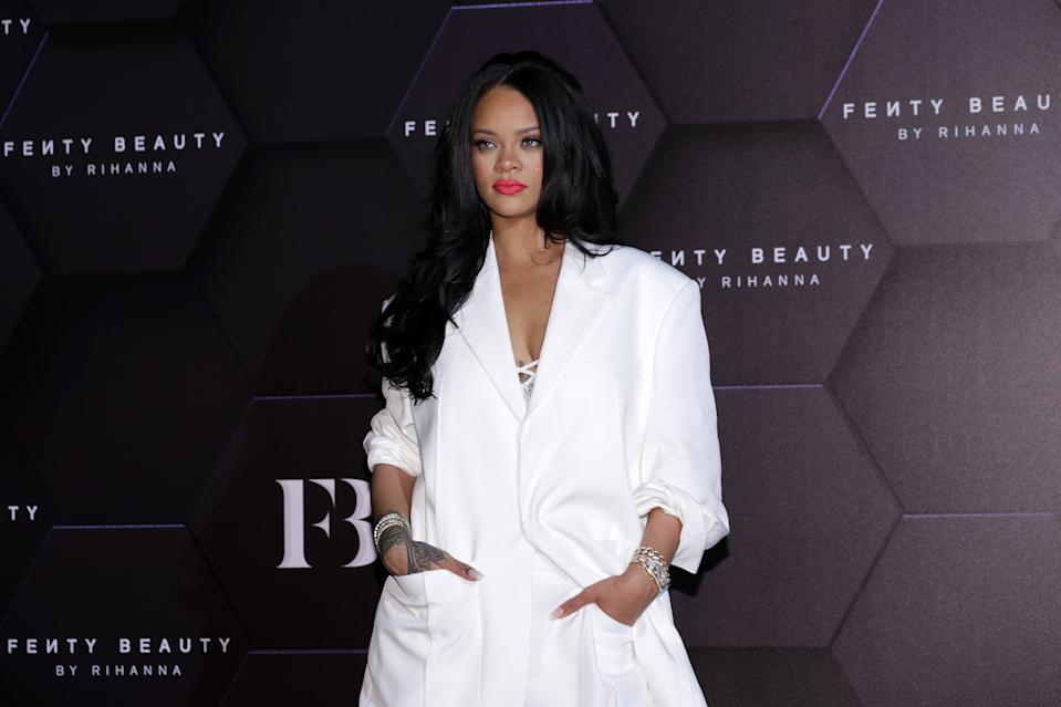 Rihanna is being praised for her response to a fan who called her out for cultural appropriation. (Photo: Getty Images)