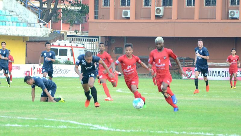Ansumana Kromah Churchill Brothers SC DSK Shivajians FC I-League 2017