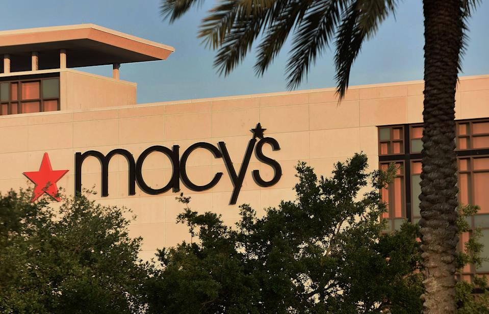 ORLANDO, FLORIDA, UNITED STATES - 2020/03/30: A Macy's store is seen on the day the company announced it is furloughing most of its 125,000 employees because of the ongoing coronavirus pandemic, which has sunk sales, and forced the closing of stores. (Photo by Paul Hennessy/SOPA Images/LightRocket via Getty Images)