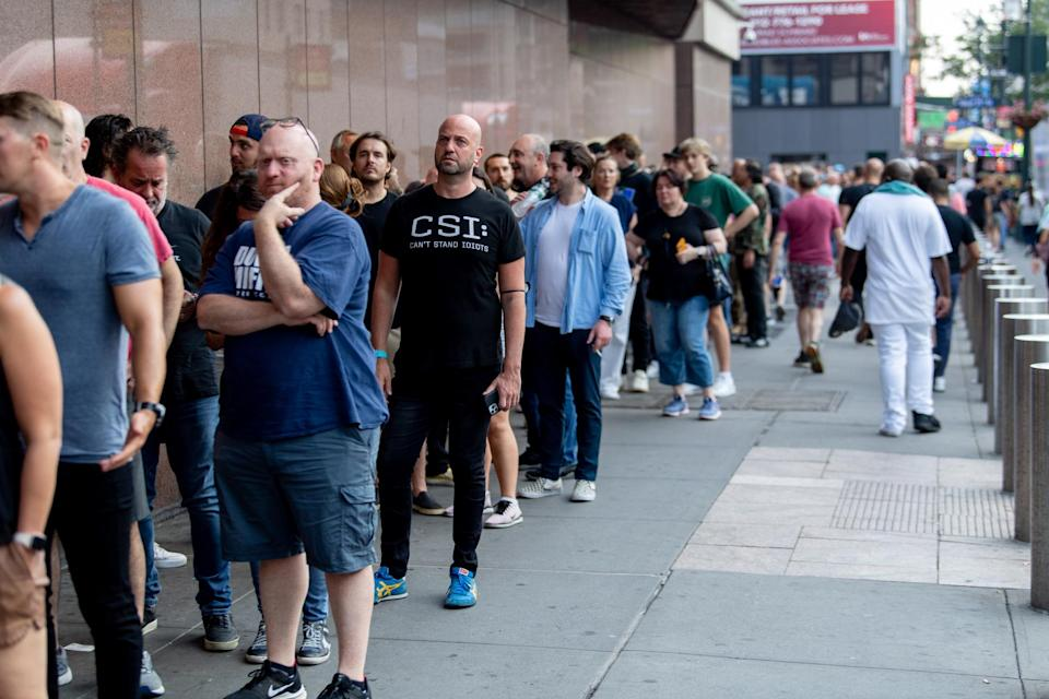 As shows come flooding back, ticket queues for big names are drawing big crowds. - Credit: Roy Rochlin