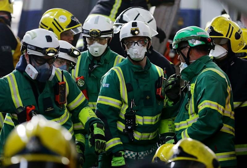 <strong>NHS paramedics on a training exercise.</strong> (PA Archive/PA Images)