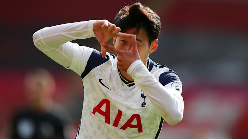 Southampton 2-5 Tottenham: Four-goal Son and Kane give Bale a glimpse of what's to come