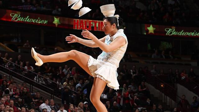 Red Panda has been wowing NBA crowds for decades. (Getty Images)