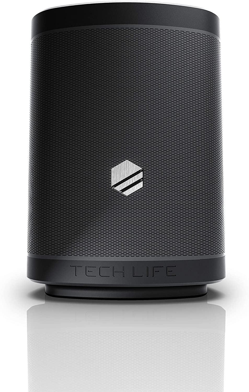 <p>Founders Allan and Nick created the <span>Tech-Life Boss Portable Bluetooth Speaker</span> ($150, originally $190) for bass-lovers and music mavens. It's a portable Bluetooth speaker that's perfect for pool parties, BBQs, tailgates, and so much more. The splash-proof, durable speaker can connect to multiple speakers and devices for optimal sound and range. It's even a portable power bank so you can keep your smartphones charged at all times. </p>