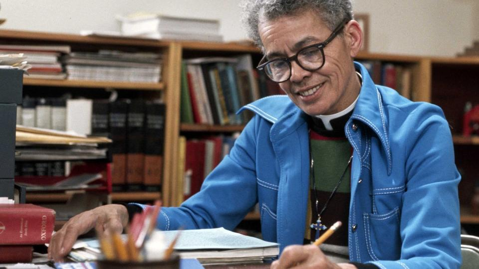 """This image released by the Sundance Institute shows a scene from """"My Name is Pauli Murray"""" an official selection of the Premieres section at the 2021 Sundance Film Festival. (Sundance Institute via AP)"""