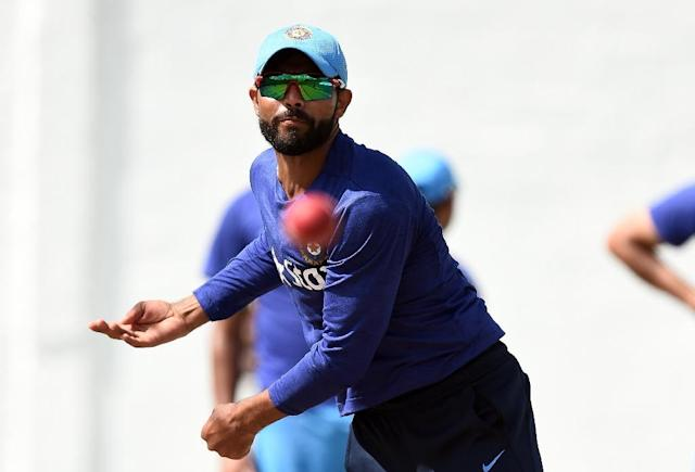 Ravindra Jadeja is currently on tour with the Indian cricket team in the West Indies (AFP Photo/Jewel Samad)