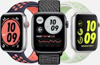 <p>The <span>Apple Watch Nike</span> ($399) is a sporty version of the classic Apple Watch. If you're looking for a true all-in-one device, this is it.</p>