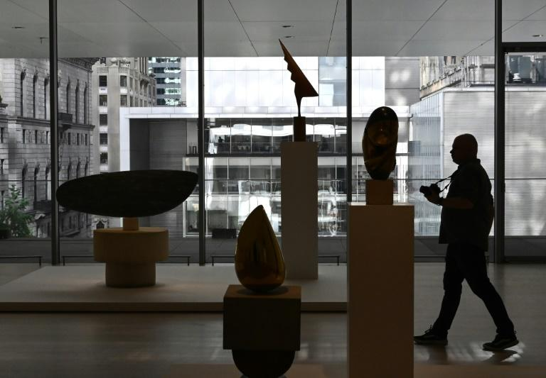 New York's Museum of Modern Art reopens on October 21 after its latest expansion (AFP Photo/TIMOTHY A. CLARY)