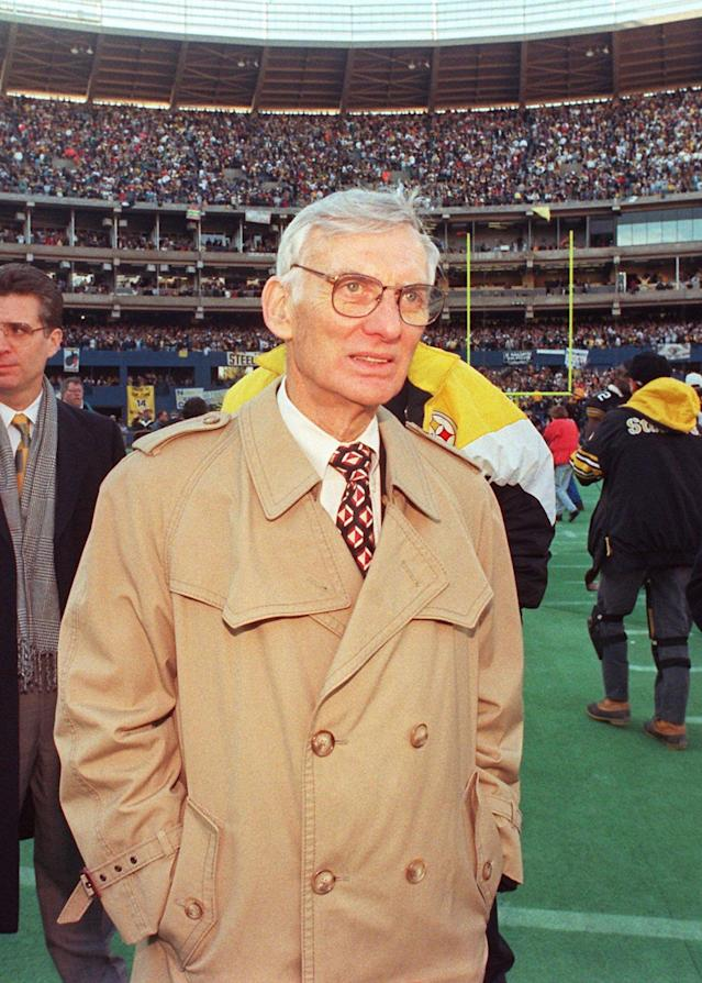 <p>Dan Rooney (1932-2017): Legendary owner of Pittsburgh Steelers and named U.S. ambassador to Ireland under the Obama administration. </p>