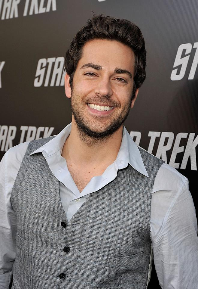"<a href=""http://movies.yahoo.com/movie/contributor/1808421073"">Zachary Levi</a> at the Los Angeles premiere of <a href=""http://movies.yahoo.com/movie/1809752801/info"">Star Trek</a> - 04/30/2009"