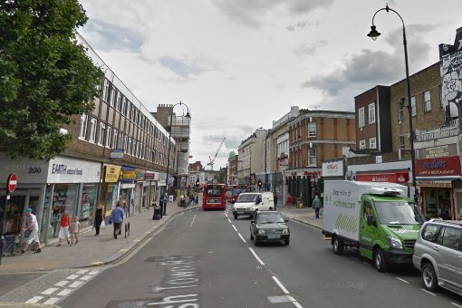 The incident happened on Kentish Town Road (Google)