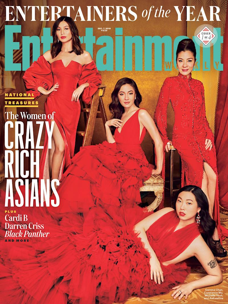 The 2018 Entertainers of the Year: The women of   Crazy Rich Asians