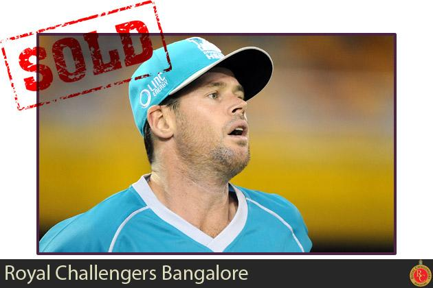 Daniel Christian goes to Royal Challengers Bangalore for $100,000