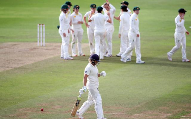 England are staring defeat in the face after a tough day at Taunton - Action Images via Reuters