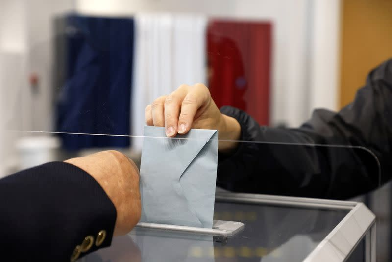 Round two of French regional elections in Le Touquet