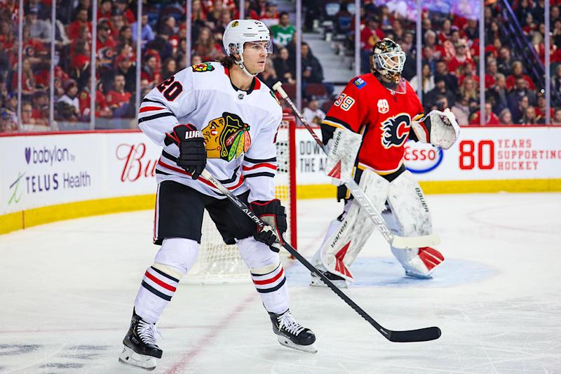 Blackhawks trade Brandon Saad to Colorado in four-player deal