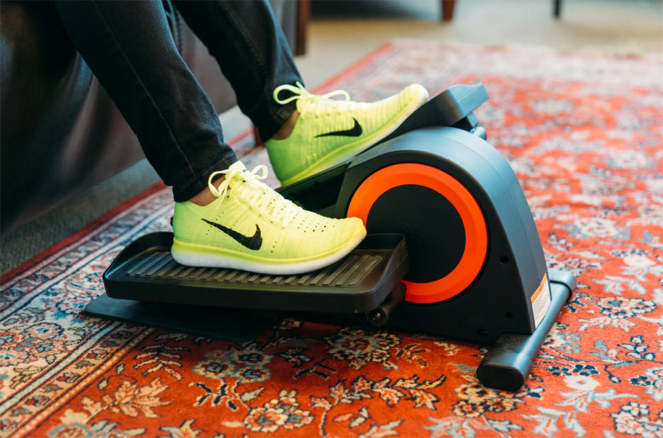 Catch up on all your shows while getting a workout in. (Photo: Cubii)