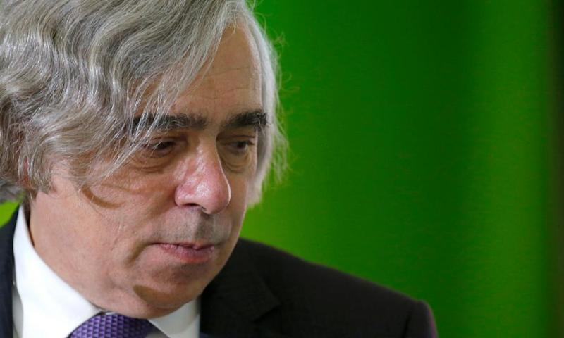 The former US energy secretary, Ernest Moniz: 'The evidence is clearly there for taking prudent steps.'